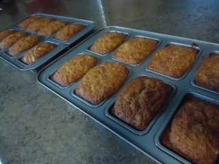 Mini Carrot Cake Loaves Beth Evenson S Blog